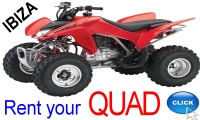 Rent your Quad in Ibiza with Ibiza Rent a Car S.L.